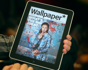 Wallpaper Magazine iPad covers